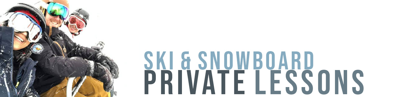 Ski and snowboard school for children and adults